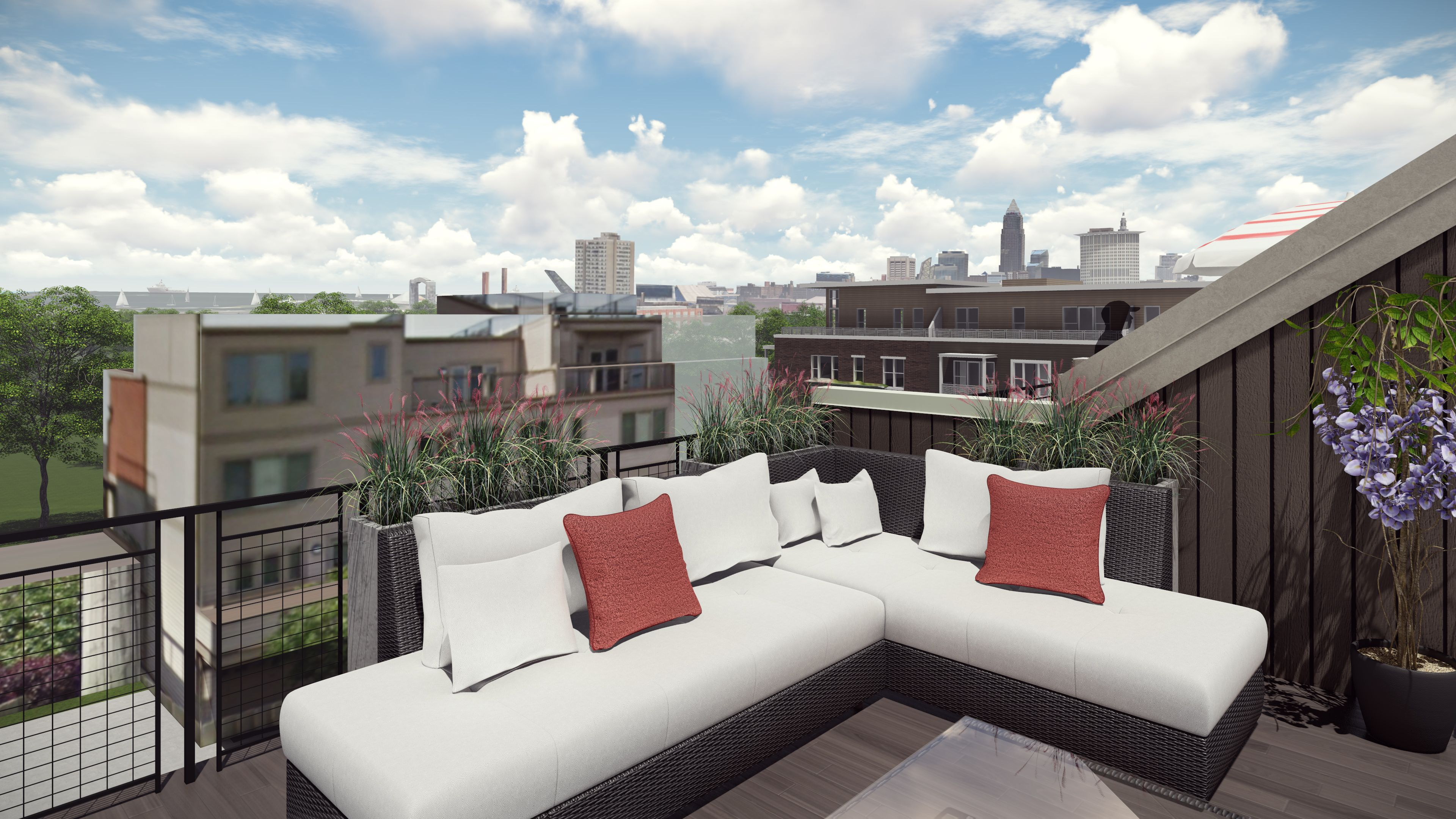 Apartment Terrace Area